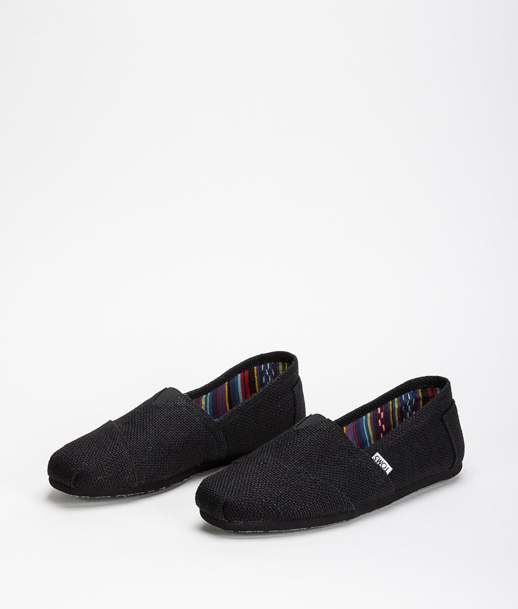 TOMS W 879 Burlaps Classic Black 49,99