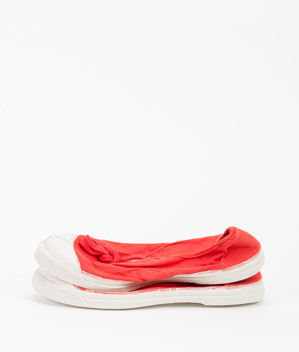 BENSIMON Women Sneakers 310 LACET Red 34.99