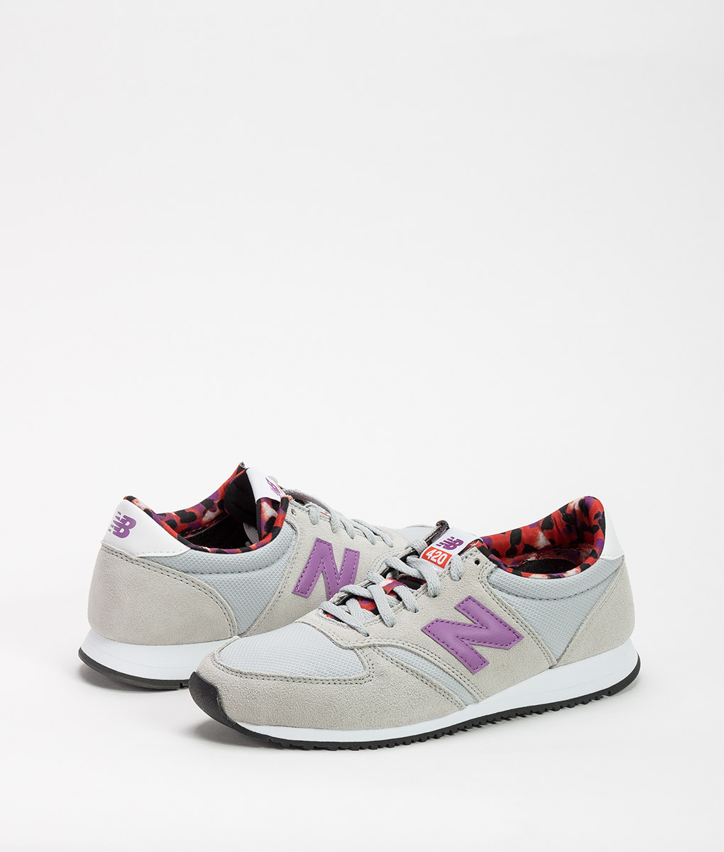 premium selection 66658 ef735 NEW BALANCE Women Running Shoes WL420 Grey Purple 69.99 1