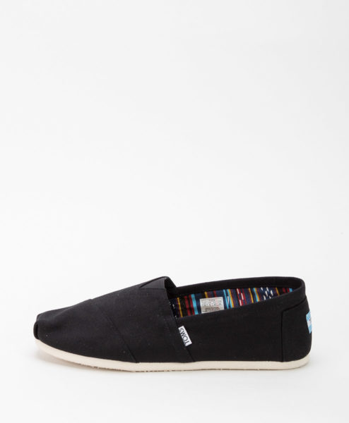 TOMS Men Espadrilles 862 CLASSIC CANVAS, Black 49.99
