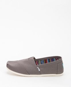 TOMS Men Espadrilles 864 CLASSIC CANVAS, Ash 49.99