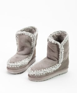 MOU Kids Ankle Boots ESKIMO BOOT, Grey 159.99