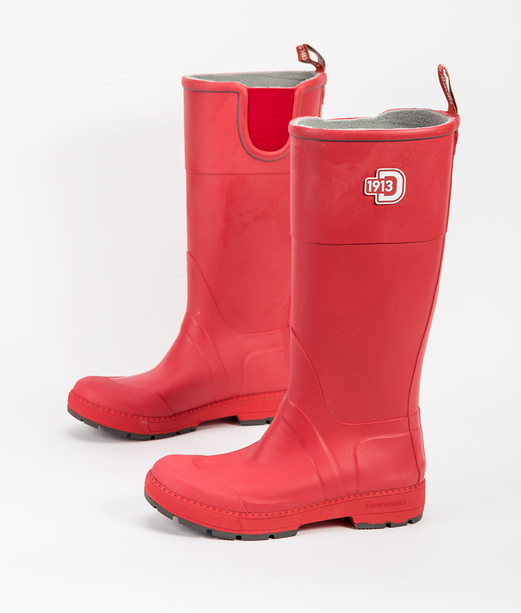 DIDRIKSONS Women Rain Boots KOSTER, Flag Red 109.99