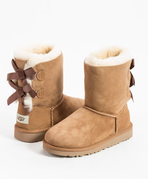UGG Kids Ankle Boots BAILEY BOW, Chestnut 204.99 1