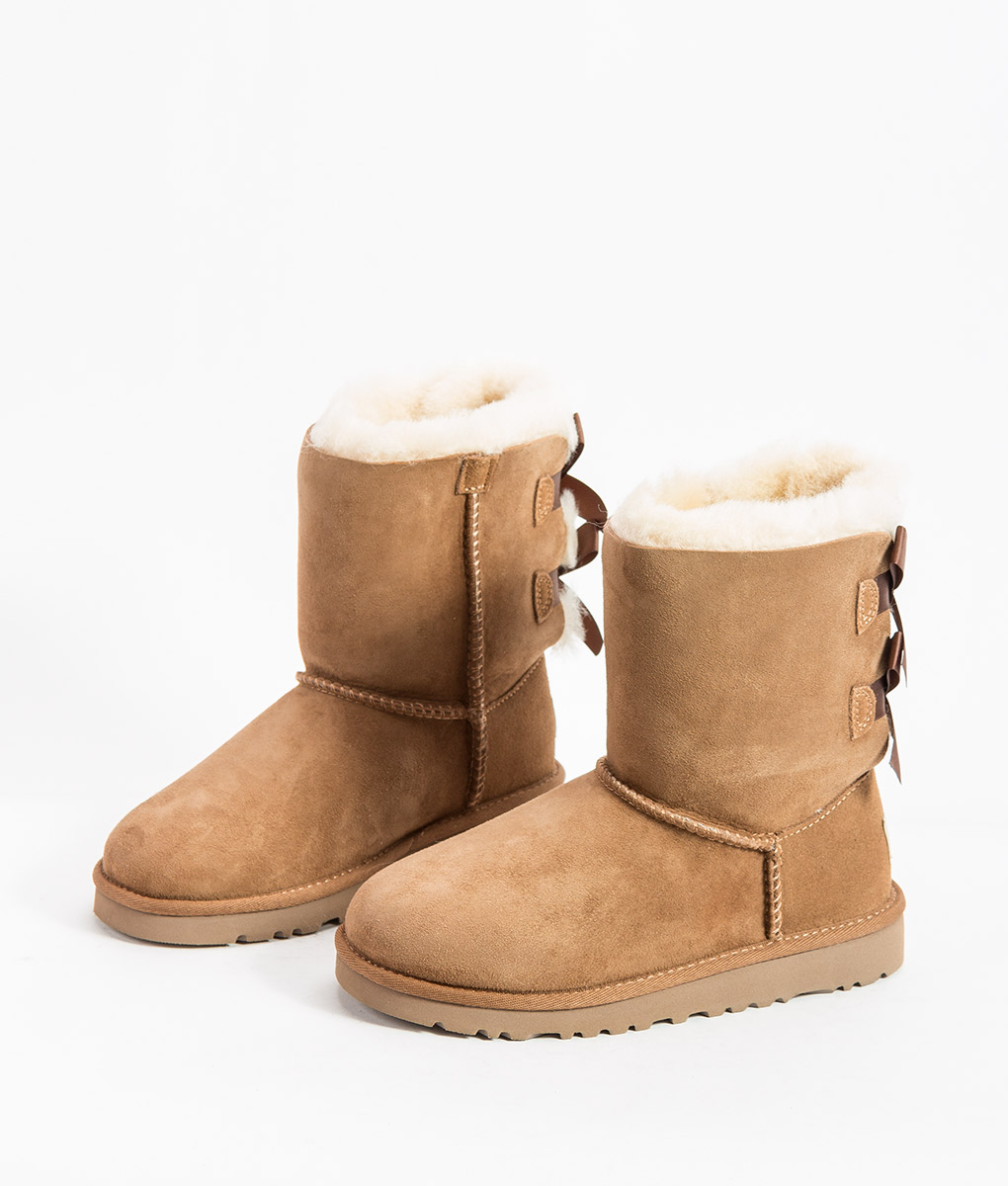 UGG Kids Ankle Boots BAILEY BOW, Chestnut 204.99 2