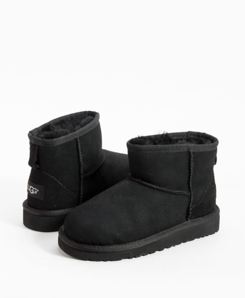 UGG Kids Ankle Boots CLASSIC MINI, Black 194.99 1