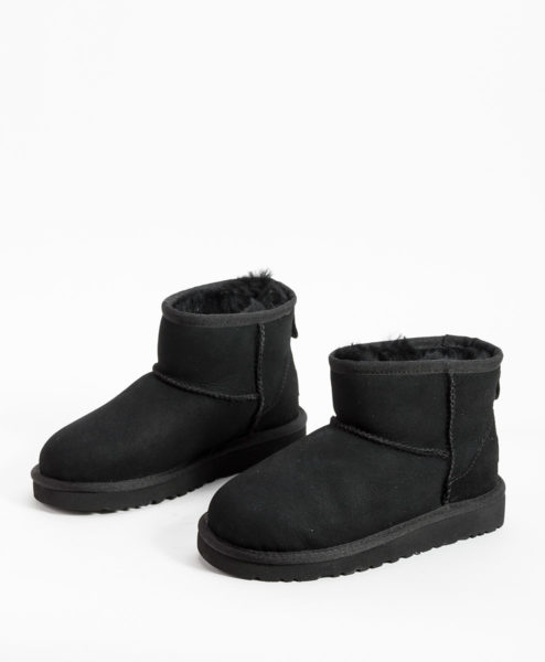 UGG Kids Ankle Boots CLASSIC MINI, Black 194.99 2