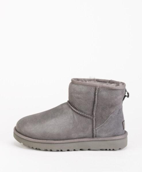 UGG Women Ankle Boots CLASSIC MINI II, Gray 204.99