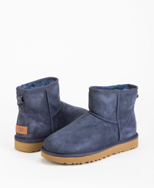 UGG Women Ankle Boots CLASSIC MINI II, Navy 204.99 1