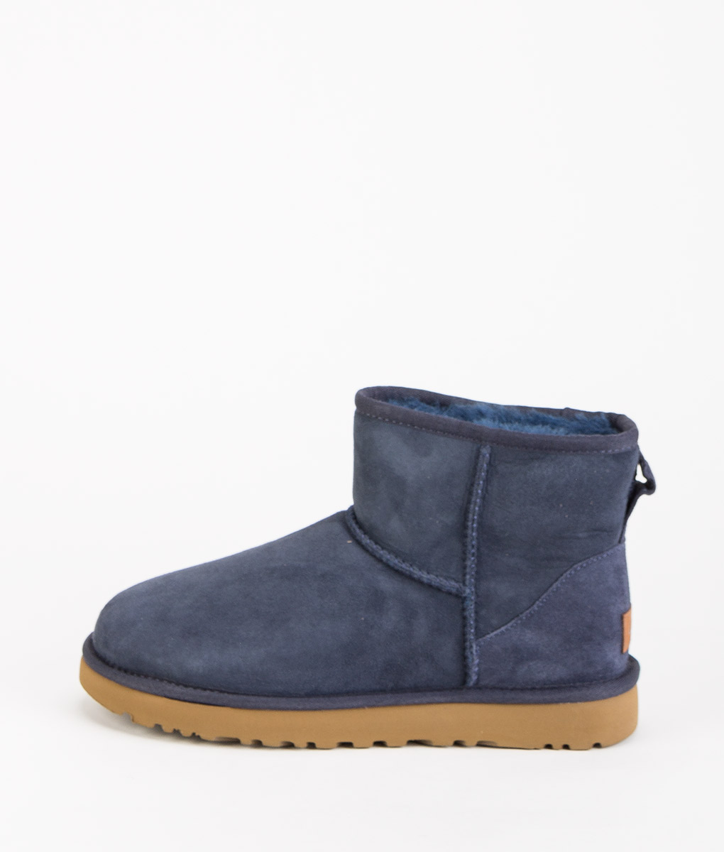 UGG Women Ankle Boots CLASSIC MINI II, Navy 204.99