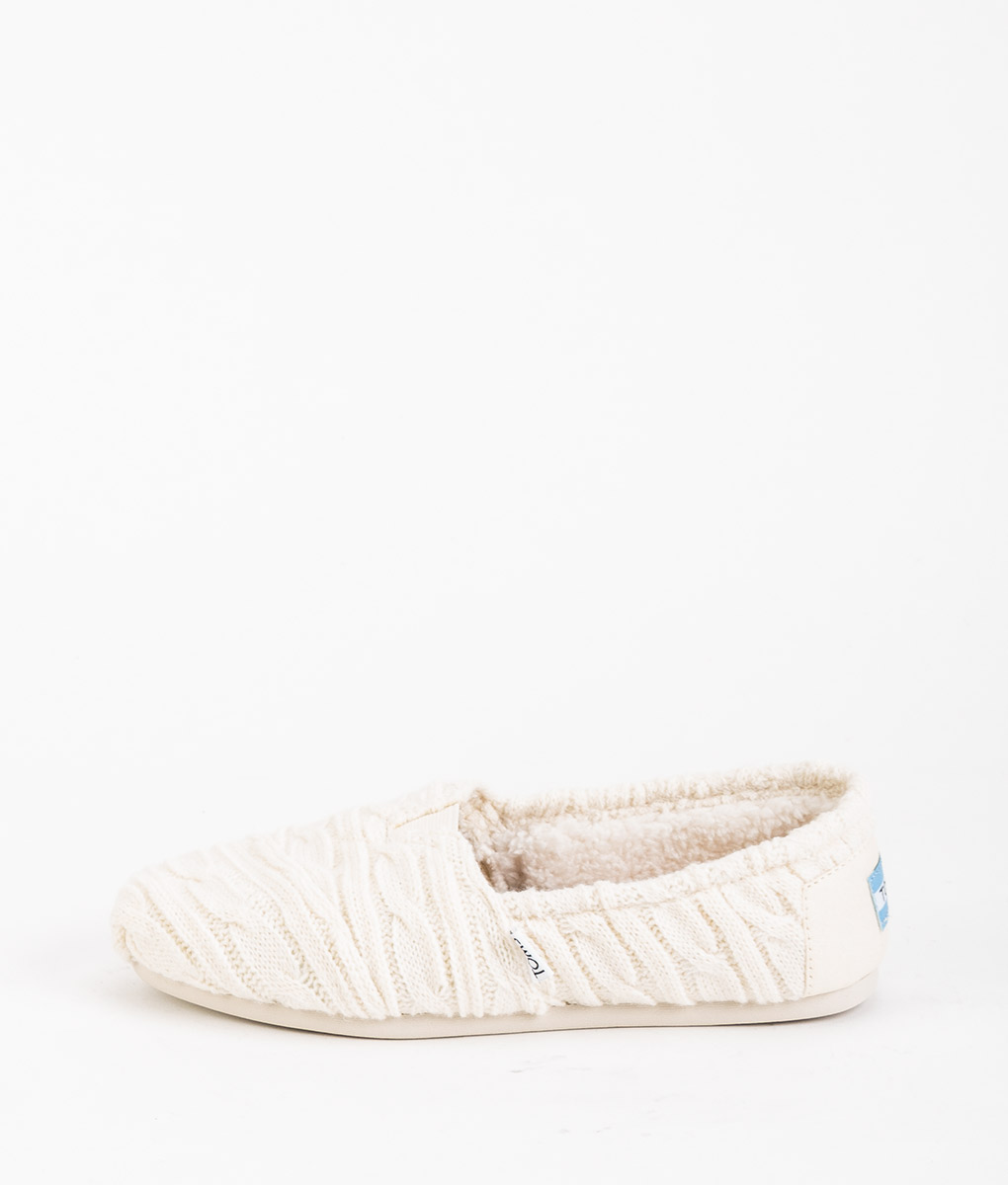 TOMS Women Espadrillas 8943 CLASSIC CABLE KNIT, Natural 59.99