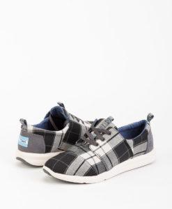 TOMS Women Sneakers 8890 DEL RAY, Black White 89.99 1
