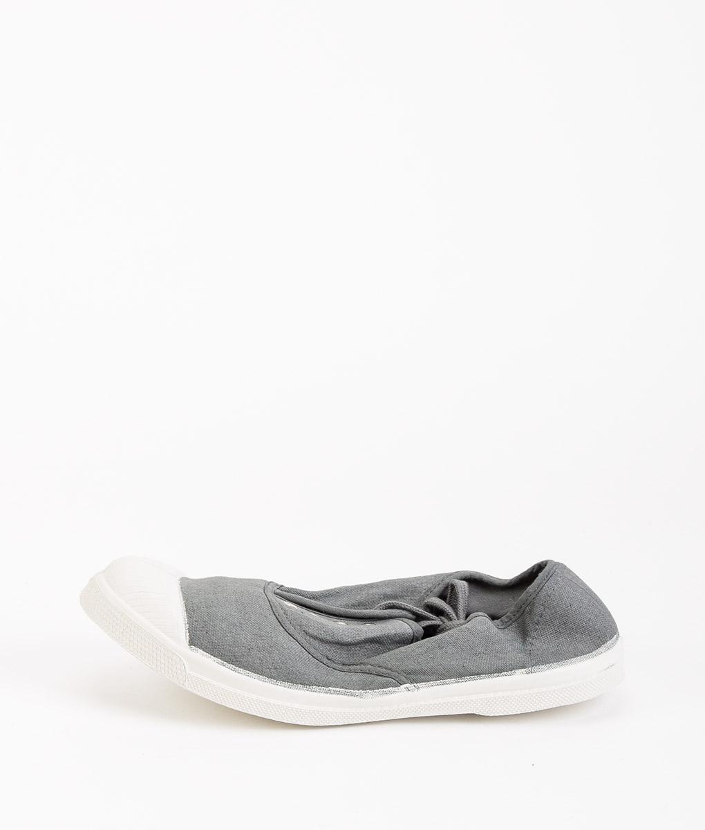 BENSIMON Women Sneakers 15004 TENNIS LACE, Gray 34.99