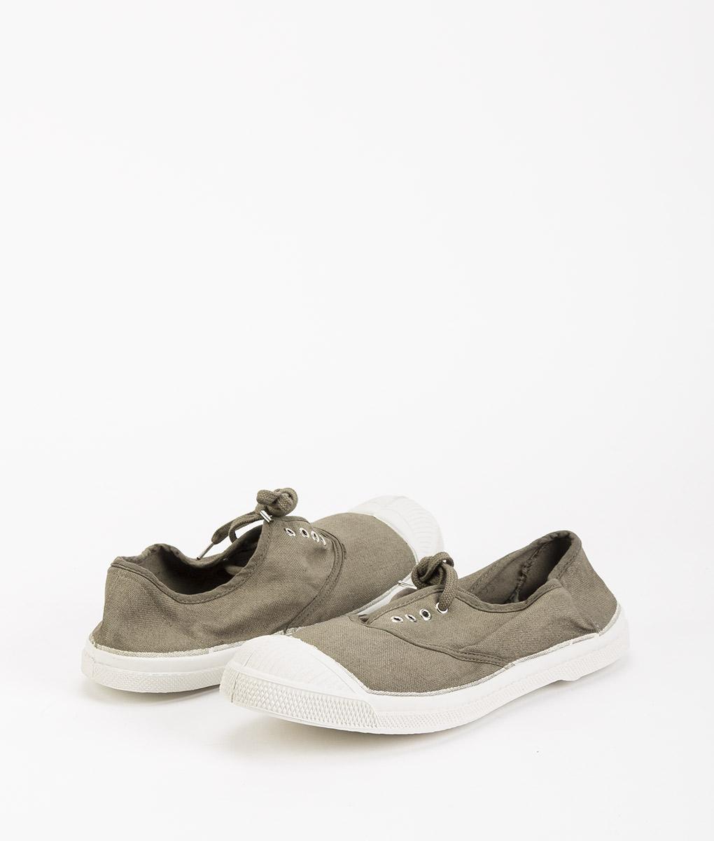 BENSIMON Women Sneakers 15004 TENNIS LACE, Light Khaki 34.99 1