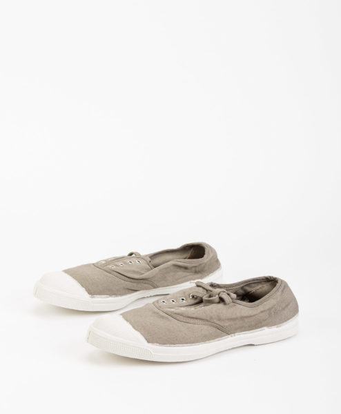 BENSIMON Women Sneakers 15004 TENNIS LACE, Mastic 34.99