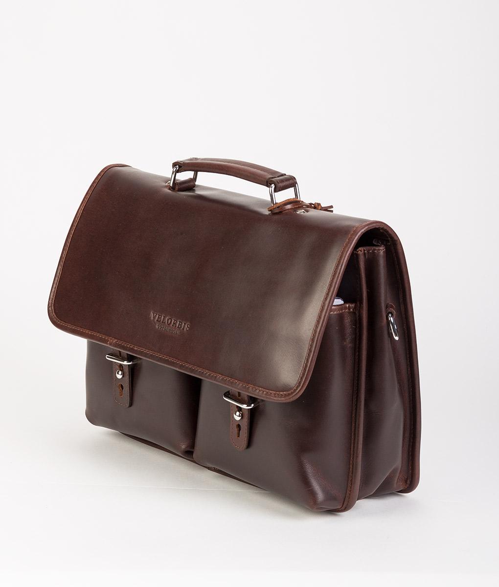 VELORBIS Men SCHOOL BAG, Chocolate Brown 335.99 1