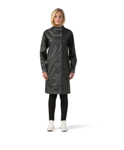 DIDRIKSONS Women Rain Coat 500696 Visby, Black 119.99