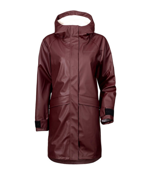DIDRIKSONS Womens Rain Coat 501465 ULLA, Old Rust 189.99