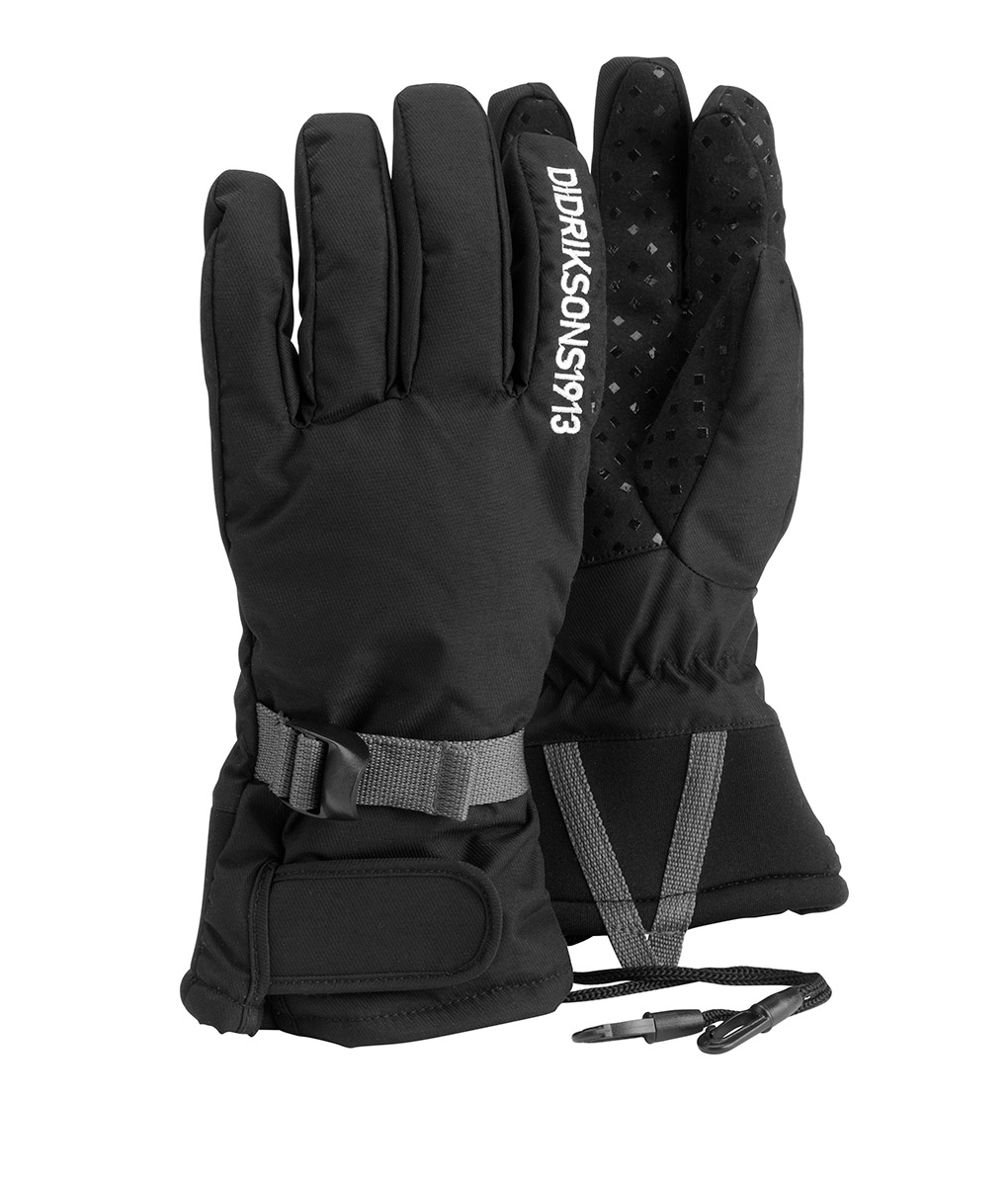 DIDRIKSONS Youth Gloves 501177 FIVE, Black 34.99