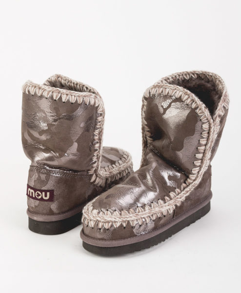 MOU Women Ankle Boots ESKIMO BOOT 24 LIMITED EDITION, Camel Silver 259.99 1