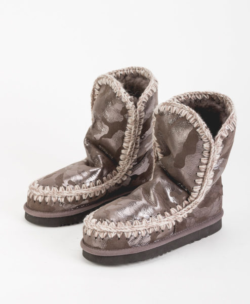 MOU Women Ankle Boots ESKIMO BOOT 24 LIMITED EDITION, Camel Silver 259.99