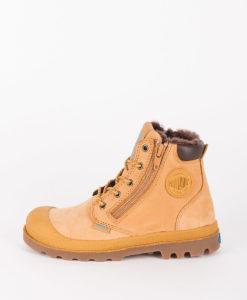 PALLADIUM Kids Ankle Boots 53477 PAMPA SPORT CUFF WPS, Amber Gold Choco 99.99