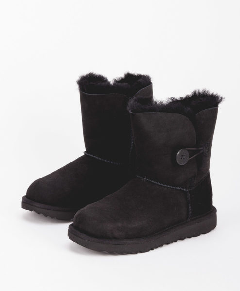 UGG Kids Ankle Boots 1017400K BAILEY BUTTON II, Black 2