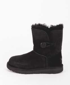 UGG Kids Ankle Boots 1017400K BAILEY BUTTON II, Black