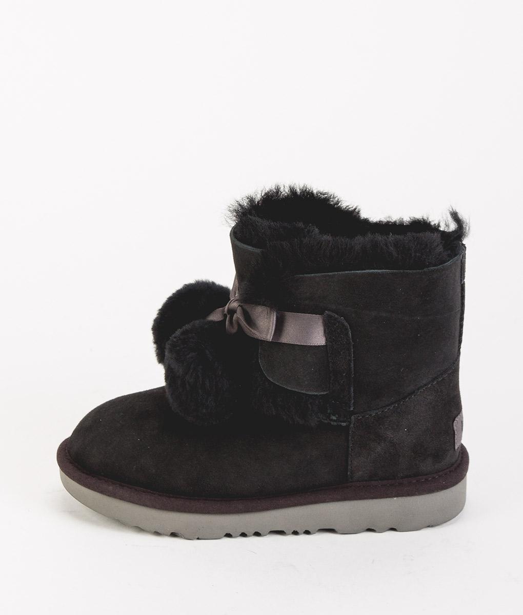 UGG Kids Ankle Boots 1017403K GITA, Black 219.99