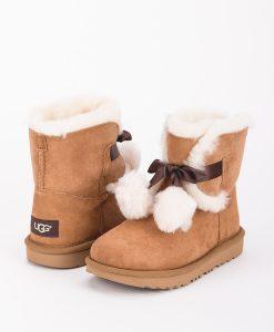 UGG Kids Ankle Boots 1017403K GITA, Chestnut 1