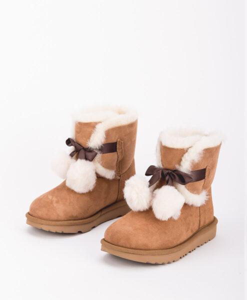 UGG Kids Ankle Boots 1017403K GITA, Chestnut 2