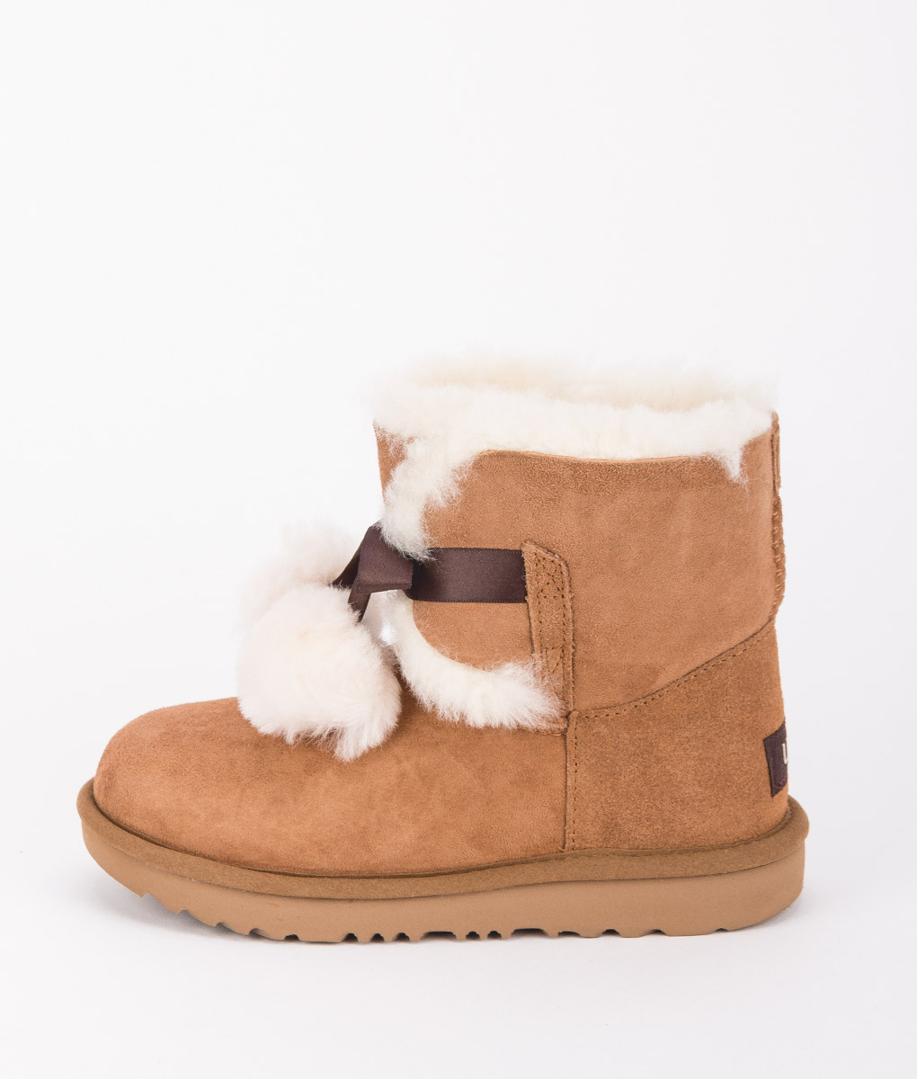 UGG Kids Ankle Boots 1017403K GITA, Chestnut