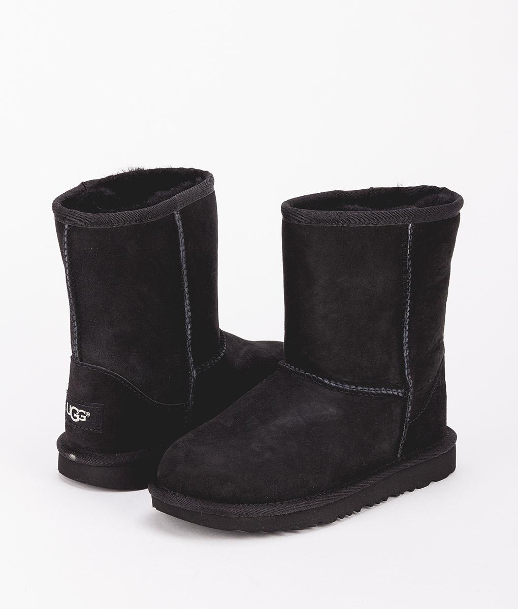 UGG Kids Ankle Boots 1017703K CLASSIC II, Black 1