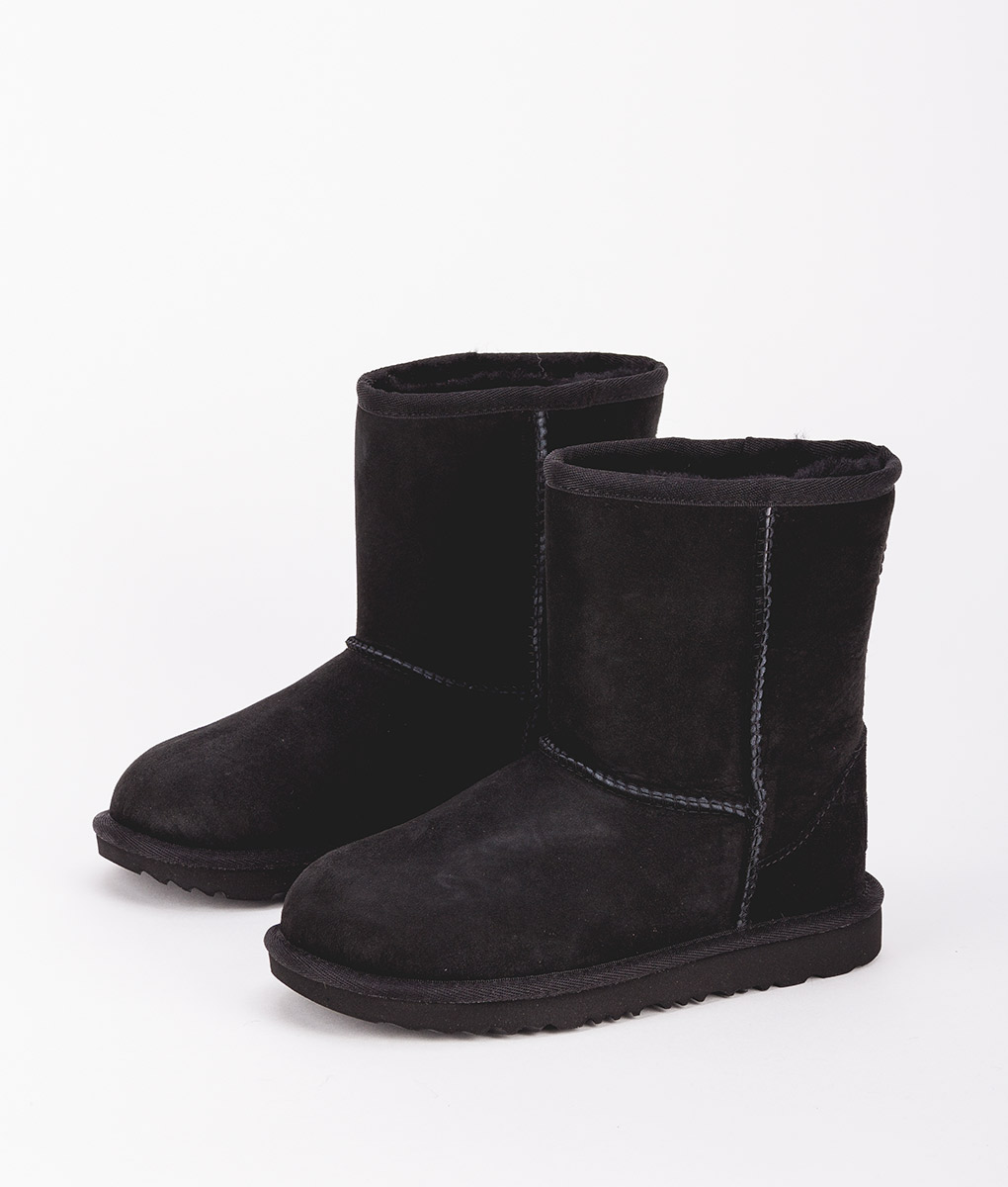 UGG Kids Ankle Boots 1017703K CLASSIC II, Black 2