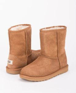 UGG Kids Ankle Boots 1017703K CLASSIC II, Chestnut 1