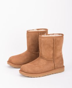 UGG Kids Ankle Boots 1017703K CLASSIC II, Chestnut 2
