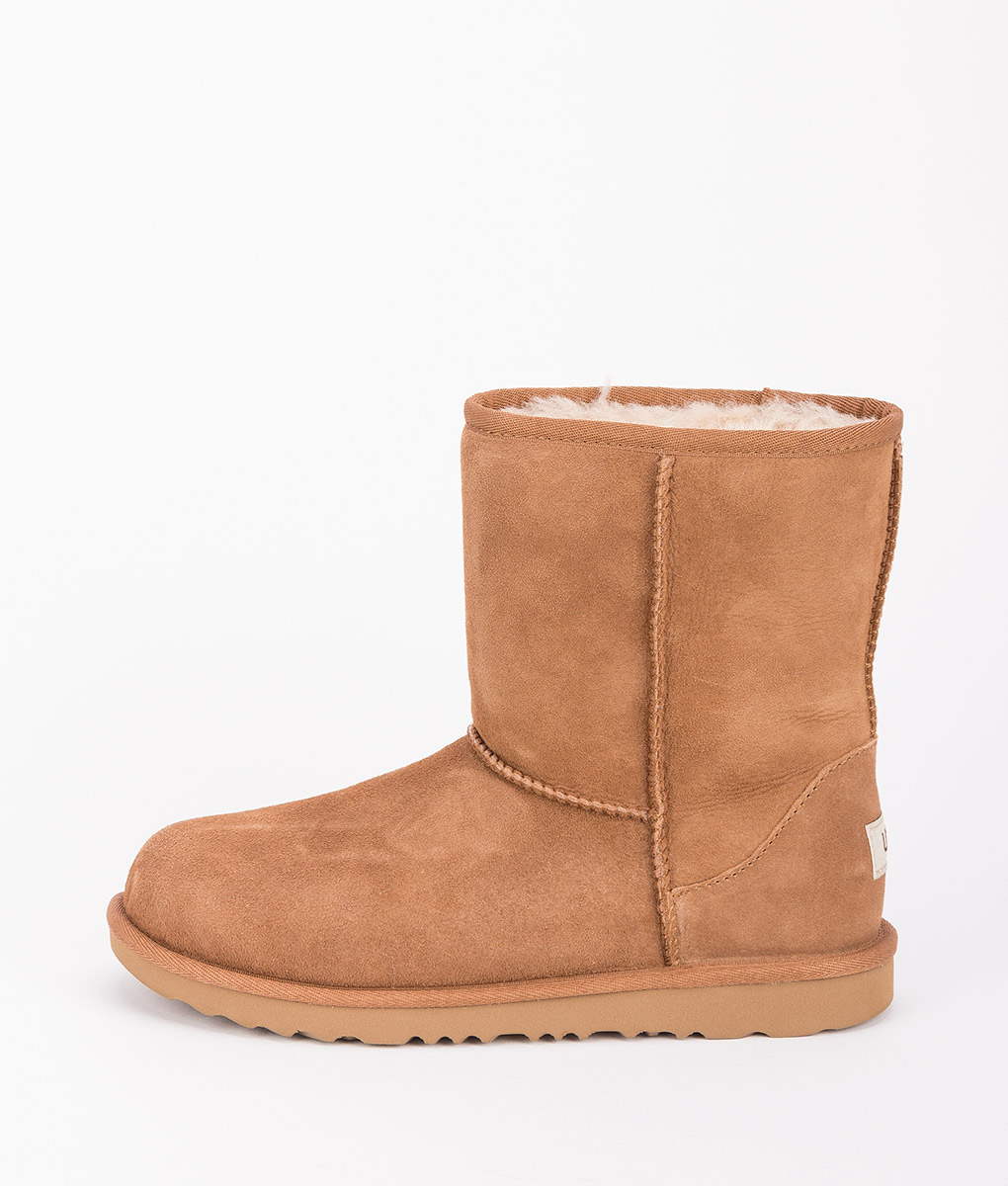 UGG Kids Ankle Boots 1017703K CLASSIC II, Chestnut