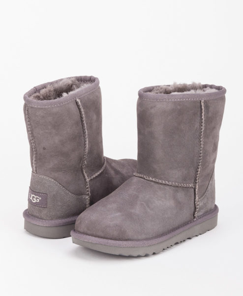 UGG Kids Ankle Boots 1017703K CLASSIC II, Grey 1