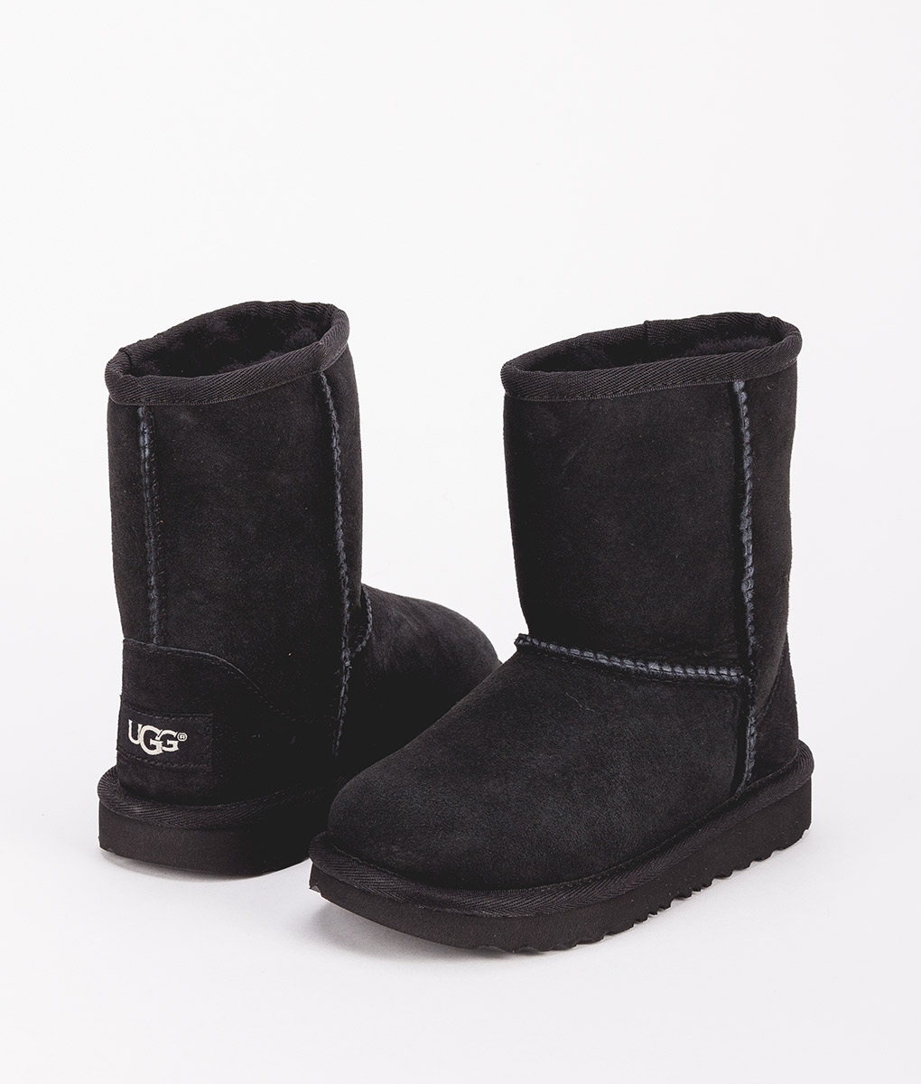 UGG Kids Ankle Boots 1017703T CLASSIC II, Black