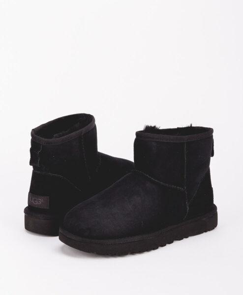 UGG Women Ankle Boots 1016222 CLASSIC MINI II, Black 1