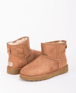 UGG Women Ankle Boots 1016222 CLASSIC MINI II, Chestnut 1