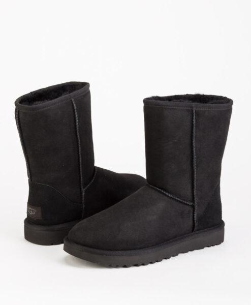UGG Women Ankle Boots 1016223 CLASSIC SHORT II, Black 244.99 1