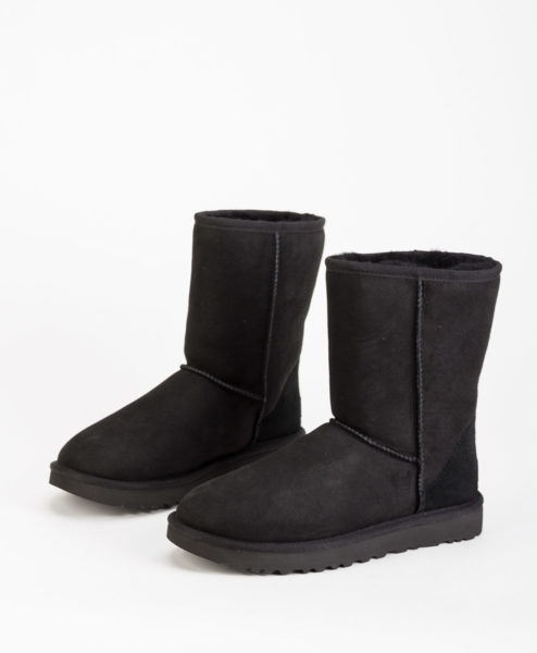 UGG Women Ankle Boots 1016223 CLASSIC SHORT II, Black 244.99
