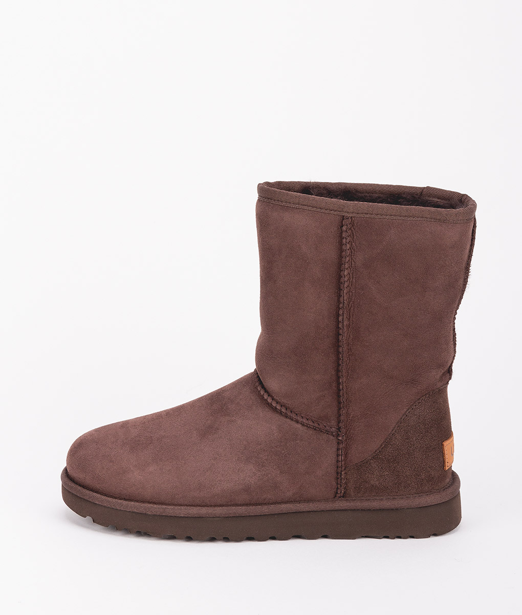 UGG Women Ankle Boots 1016223 CLASSIC SHORT II, Chocolate