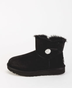 UGG Women Ankle Boots 1016554 MINI BAiLEY BUTTON BLING, Black 269.99