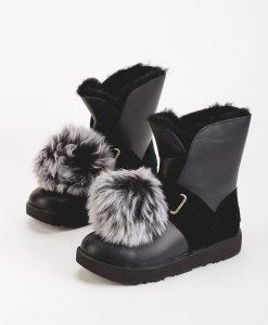 UGG Women Ankle Boots 1018605 ISLEY WATERPROOF, Black 329.99