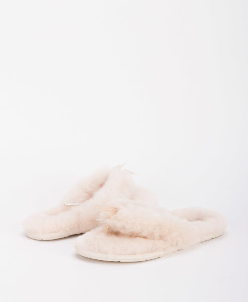 UGG Women Slippers 1003492 FLUFF FLIP FLOP II, Natural 1