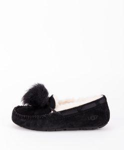 UGG Women Slippers 1019015 DAKOTA POM POM, Black 169.99