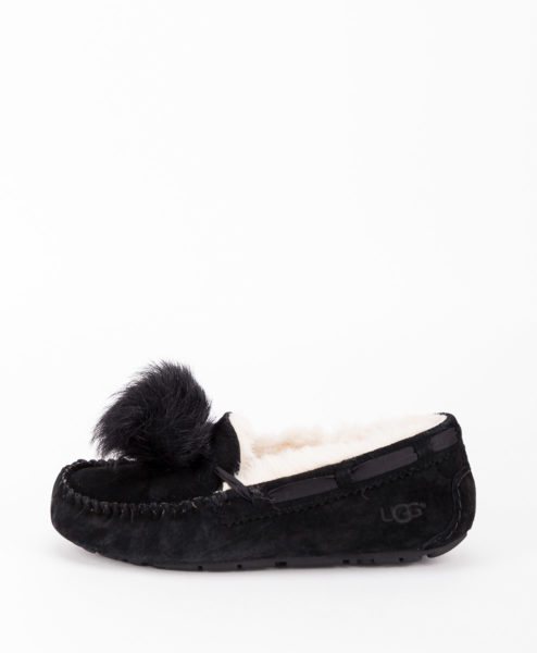 UGG Women Slippers 1019015 DAKOTA POM POM, Black 169.99