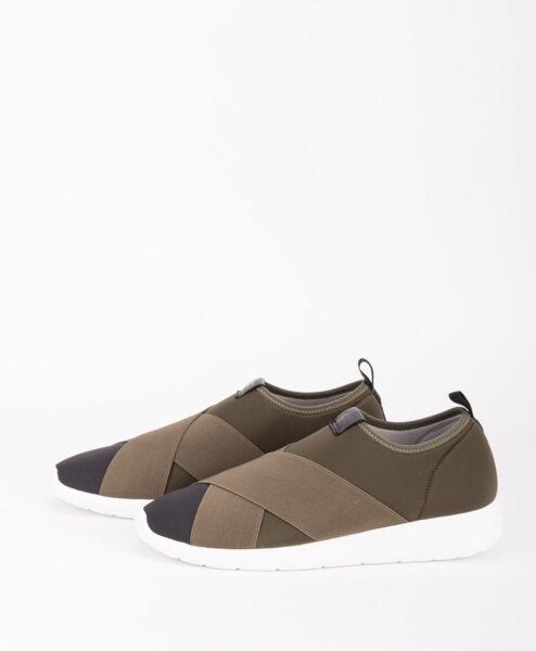 FESSURA Men Sneakers AIR017AIRSOCK X, Black Khaki 149.99